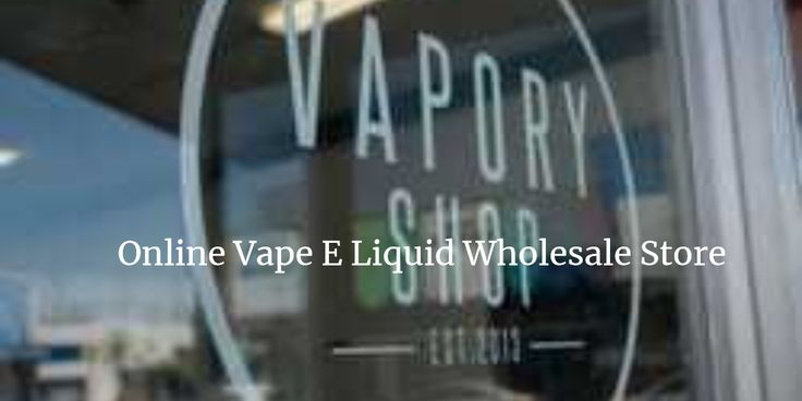 Buy #Vape Juice at Wholesale Prices