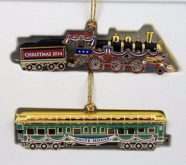The White House Historical Association 2014 Christmas Ornament Warren G. Harding