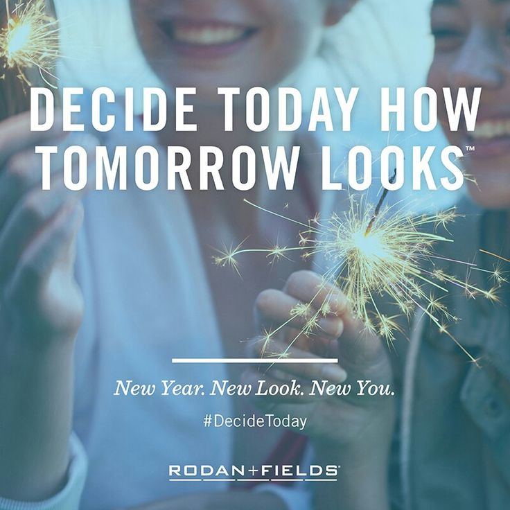 Decide today how tomorrow looks! Rodan+Fields business is changing skin and changing lives!