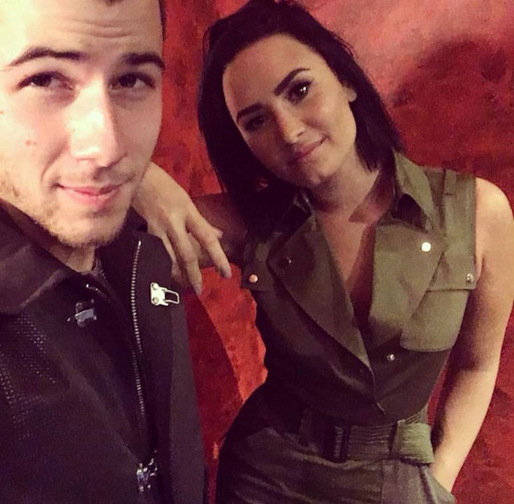 Demi Lovato and Nick Jonas at the Irving Plaza in New York - October 26th