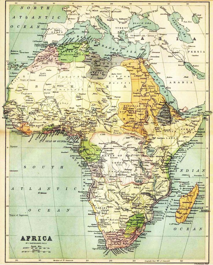 199 best africa images on pinterest world maps africa and cards antique map of africa 1885 gumiabroncs Images