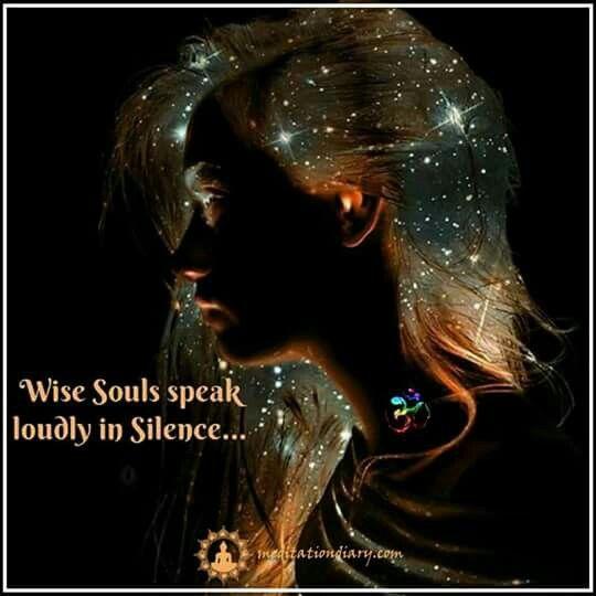Wise souls......