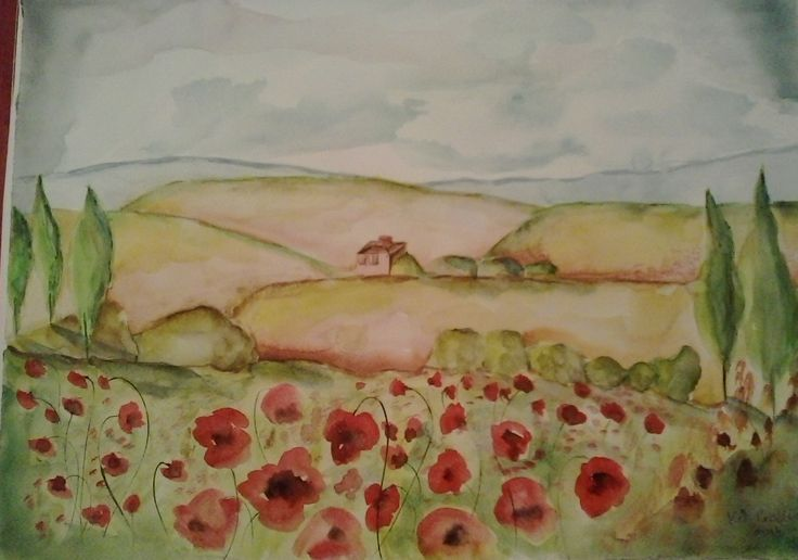 Toscana /Watercolor
