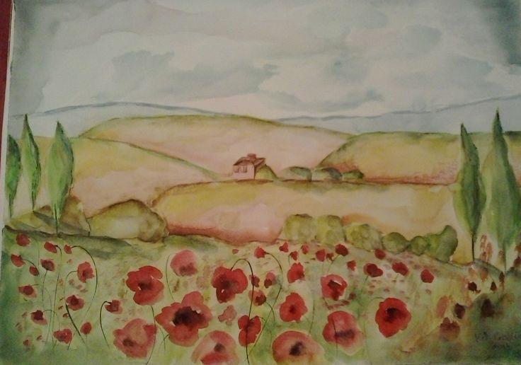 Toscana /Watercolor