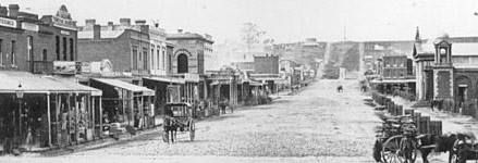 Castlemaine Australia 1800s Mostyn St