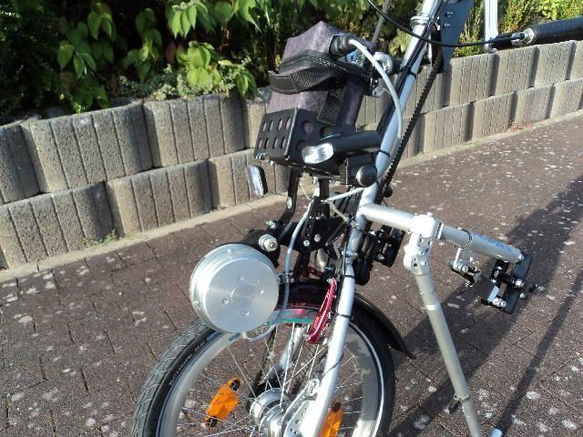 Stricker City 7 mit Planetengetriebe und genialer Motorunterstützung » Handbike-Basar (Private Kleinanzeigen) » Faszination Handbike
