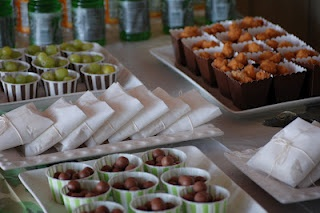 good ideas lupe lets check the link -Military party food. Green and Brown Color Theme.