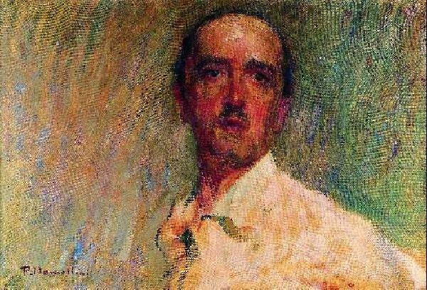 Plinio Nomellini (1866-1943) – Autoritratto