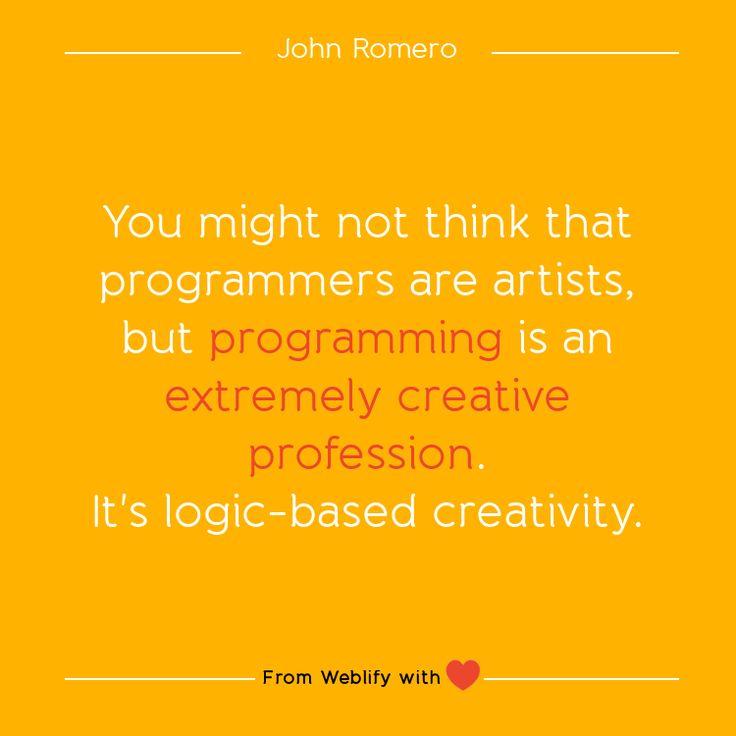 Inspiring coding quotes: John Romero