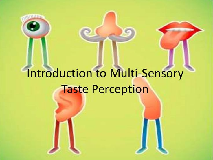 Introduction to Multi Sensory Taste Perception by Jozef_a via slideshare