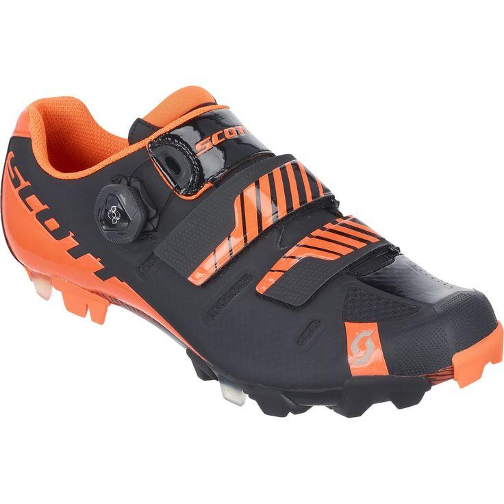 Scott MTB Premium Shoe Black/Neon Orange Gloss 47.0