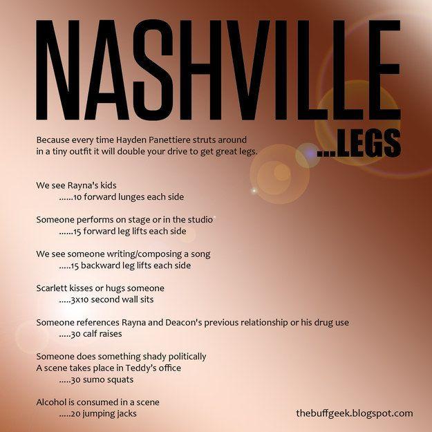 Nashville workout plan.