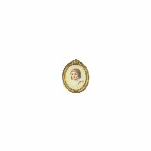 Joseph Ducreux Nancy 1735 - 1802 Paris PORTRAIT DE LOUIS XVII