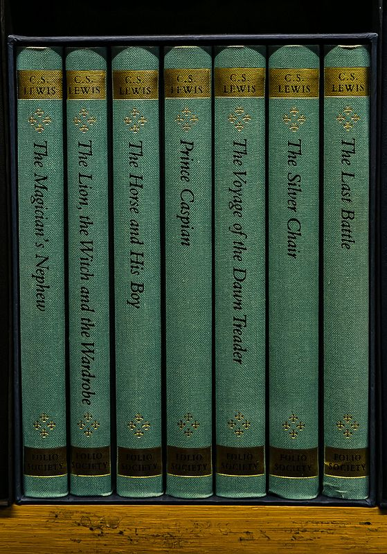 The Chronicles of Narnia by C.S. Lewis — I started reading them when I was about 8 or 9, but never finished...