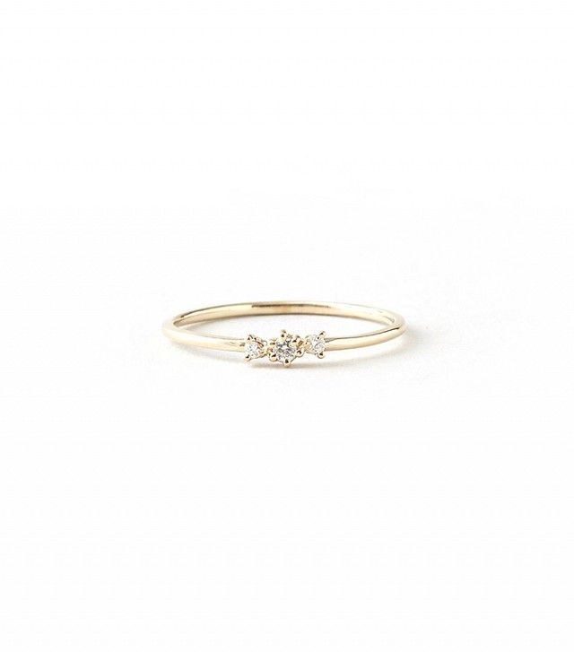 16 Subtle Engagement Rings for Girls Who Don't Love Bling via @WhoWhatWear
