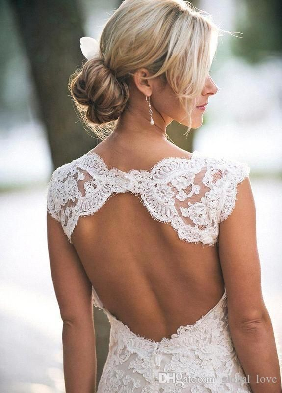 Vintage 2016 Fulla Lace Wedding Dresses Party Sleeveless Keyhole Back V Neck A Line Ivory Elegant Custom Made Bridal Gowns Expensive Wedding Dresses Fitted Wedding Dresses From Global_love, $103.1| Dhgate.Com