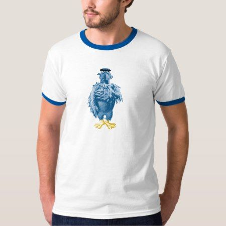 Muppets Sam the Eagle standing pledging Disney T-Shirt - click to get yours right now!