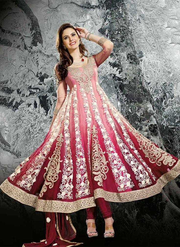 57 mejores imágenes de New Anarkali suits en Pinterest   Moda india ...