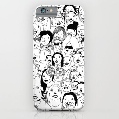Come and guess! #illustration #doodle #art #drawing #pen #bnw #blackandwhite #bw #mono #society6 #s6 #concert #gig #crowd #people #phone #iphone #iphone5 #iphone5s #iphone6 #iphone6plus #case