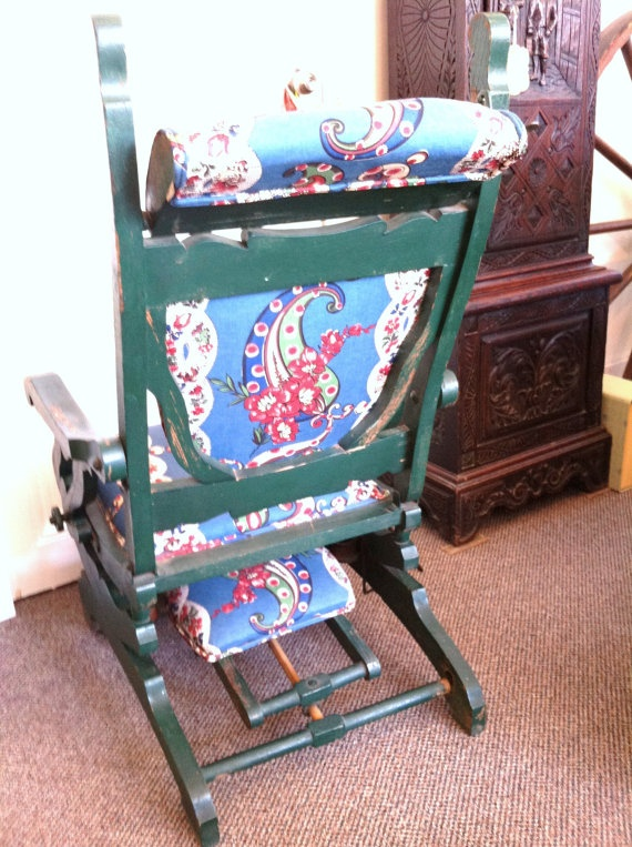 rocking chairs chairs recliners forward antique victorian rocking ...
