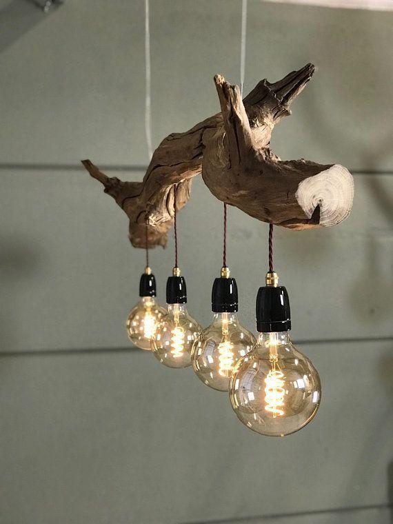 Lampadine Vintage Lampadine Schrank Stamm Tv Gerat Vintage Wohnzimmersitzgelegenheiten Wohnz In 2020 Holz Hangelampe Deckenlampe Holz Lampen Holz Rustikal