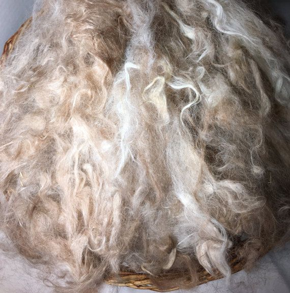 Suri Alpaca locks - clouds- loose fiber/ fleece- Spinning-  Gorgeous and silky soft.
