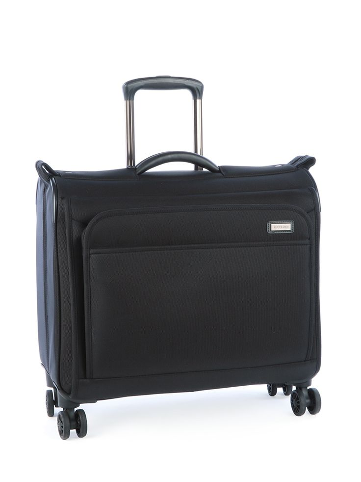 480mm 4 Wheel Garment Bag Black - Luggage
