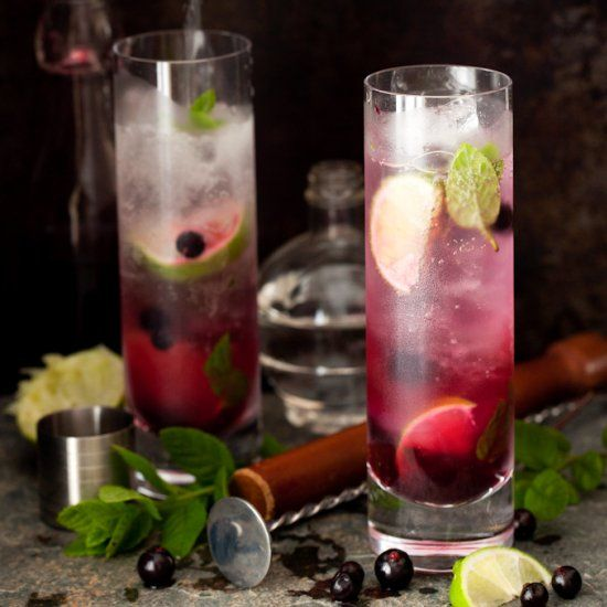 Blackcurrant Mojito. It's fun. It's fruity. It's got attitude... and a hint of vanilla. Try this twist on the classic.
