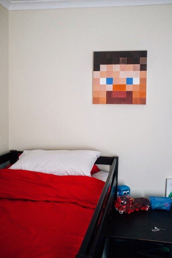 minecraft themed bedroom 17 best images about caden s minecraft boys room on 12402