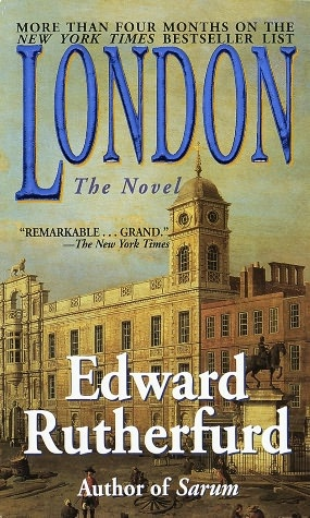 London by Edward Rutherford, along the same lines as Sarum, but deals with the building of London. Another of my favorites.