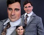 "Steve Carell ""Maxwell Smart"" doll"