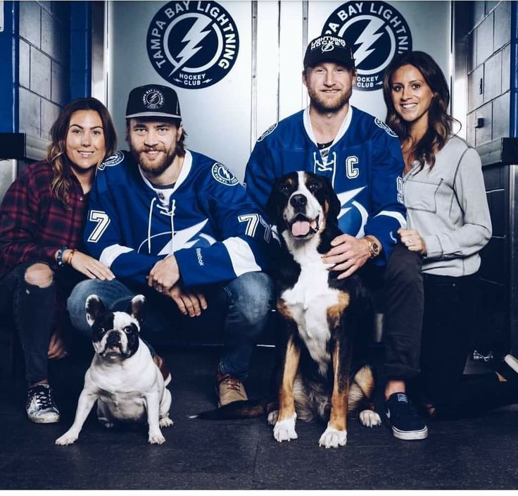 The Hedman's and Stamkos'. Go Bolts