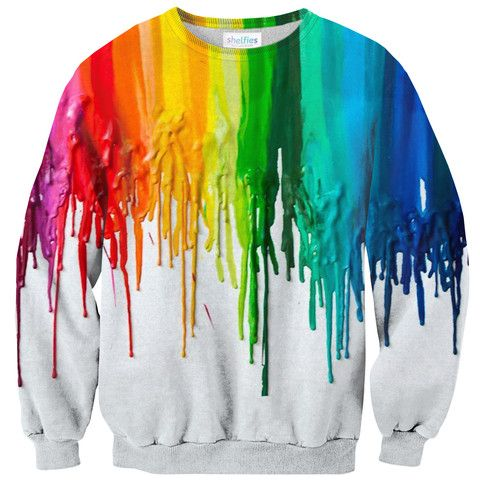 Melted Crayon Sweater – Shelfies - Out  EUR 42.00