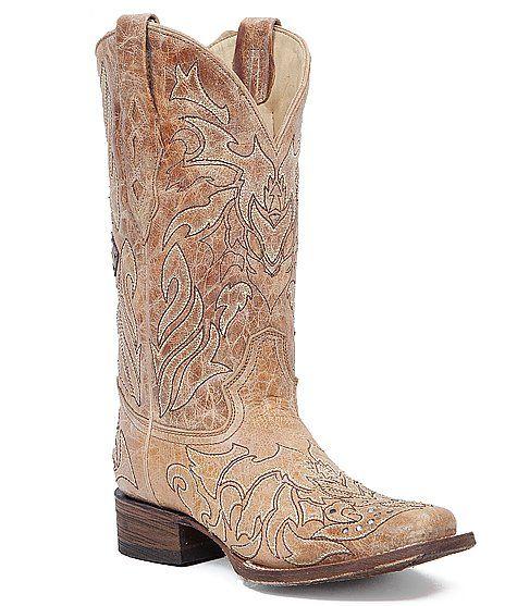 Corral Cross Cowboy Boot at Buckle.com