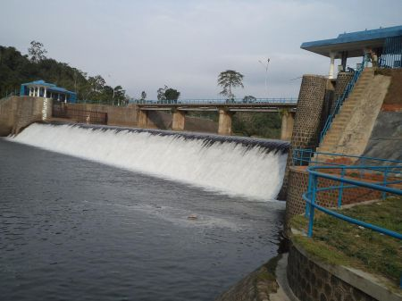 Bendungan Air Manjunto Bengkulu