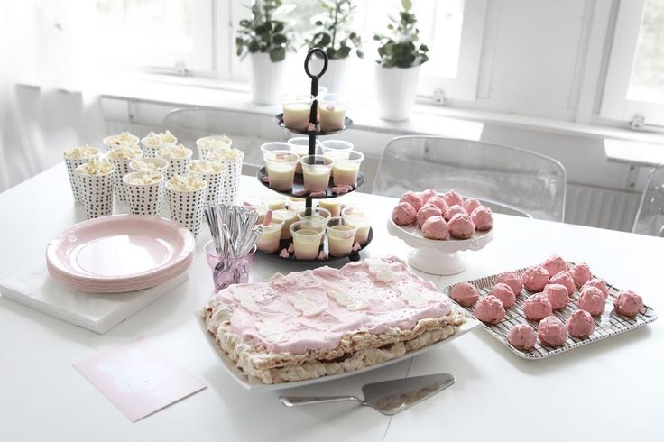 www.therez.se - #birthday #sweets #pinkandwhite