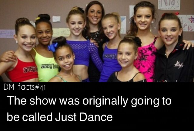 Dance moms fact by dmomsfanpage I think I would've liked this so much instead of all the mama drama