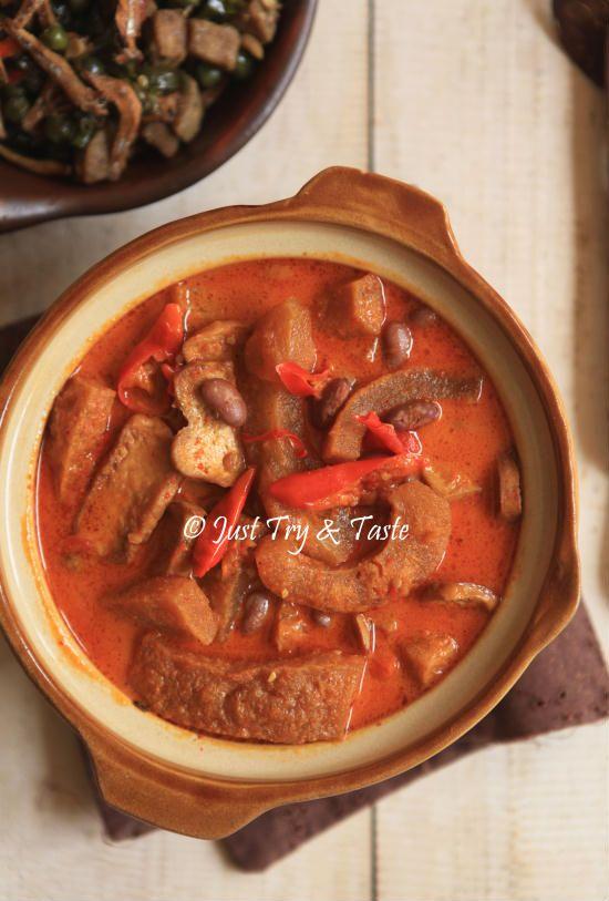 Just Try & Taste: Resep Sambal Goreng Krecek dengan Kacang Merah dan Tahu