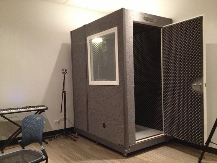 21 best vocal booth images on pinterest music studios for Soundproofing a room for music