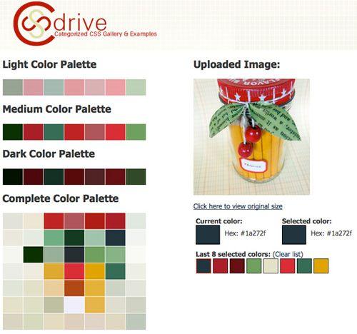 Utilizing Online Photo Color Generators  from Cathe on SC Johnson's Family Economics blog. Photos courtesy of Cathe Holden.
