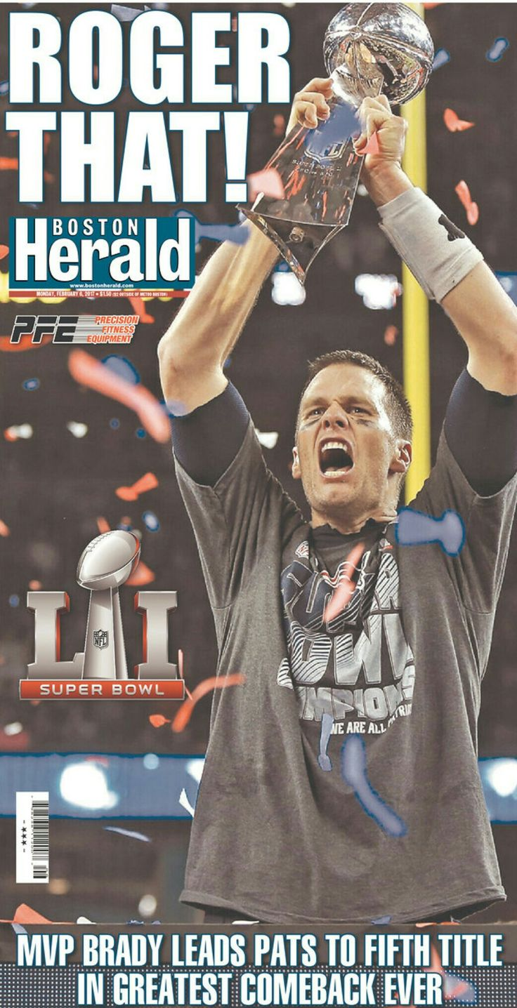 New England Patriots win Superbowl LI (51), 34 - 28, with a come from behind victory over the Atlanta Falcons. The Falcons led 28 - 3 at one point, and by 18 points entering the 4th quarter. (February 5, 2017)