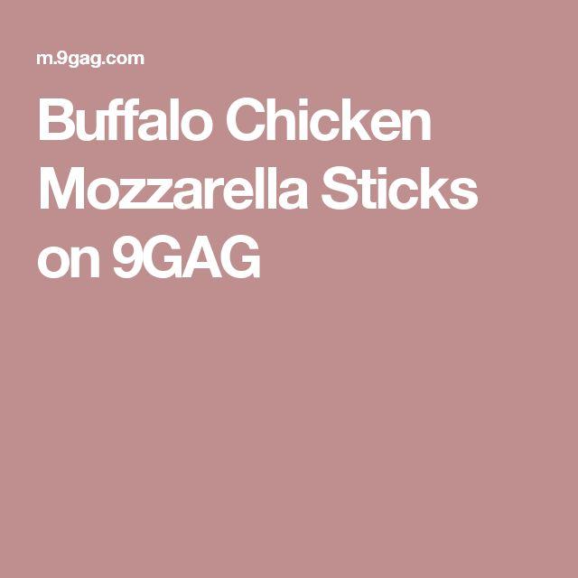 Buffalo Chicken Mozzarella Sticks on 9GAG