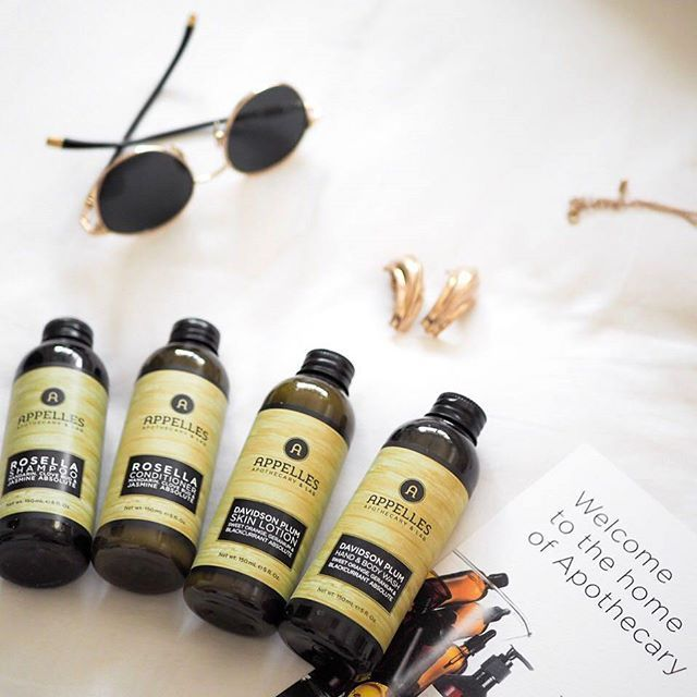 Indulge in a first class upgrade for your next holiday with our APPELLES Green Range, featuring our Rosella Shampoo & Conditioner and Davidson Plum Wash & Lotion. Via @bairbeauty
