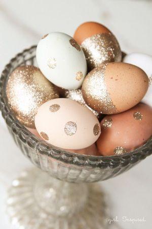 golden easter eggs easter wedding decor brides of adelaide magazine
