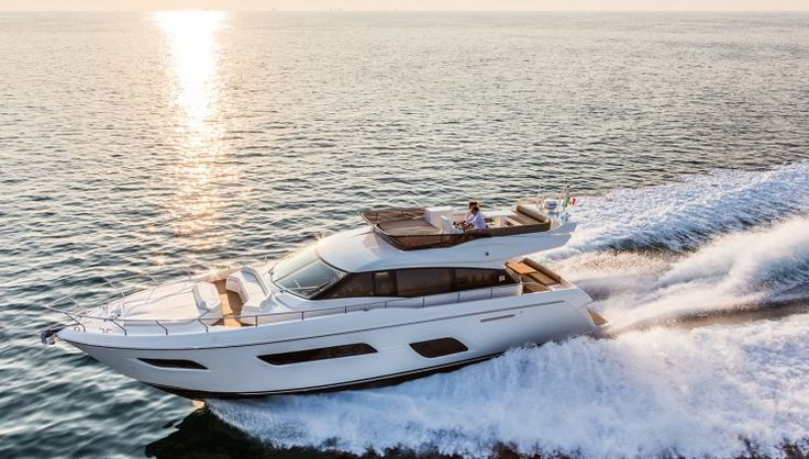 The Ferretti Yacht 550 is Small in Stature but Feels like a Superyacht