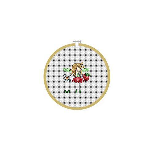 July Fairy Cross Stitch Pattern