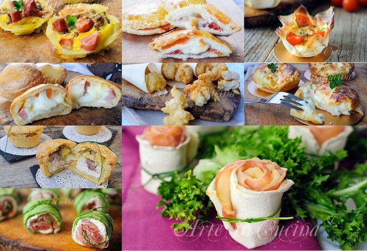 Antipasti e finger food per Natale ricette sfiziose vickyart arte in cucina