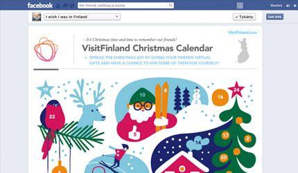 Visit Finland Joulukalenteri Visit Finlandille SEKin kanssa toteutettu virtuaalinen joulukalenteri, jossa käyttäjien oli mahdollista voittaa palkintoja joka päivä. Käyttäjät pääsivät päivittäin äänestämään parasta kahdesta palkintovaihtoehdosta, joista voittava lahja arvottiin käyttäjien kesken.
