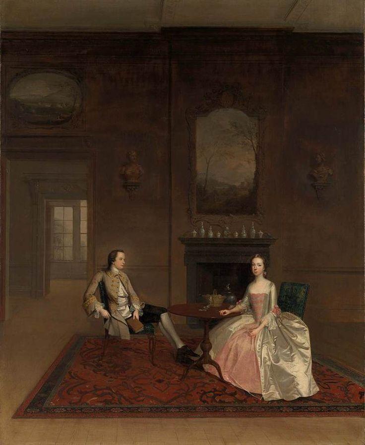 DEVIS, Arthur Richard Bull and Mary Bennett 1747