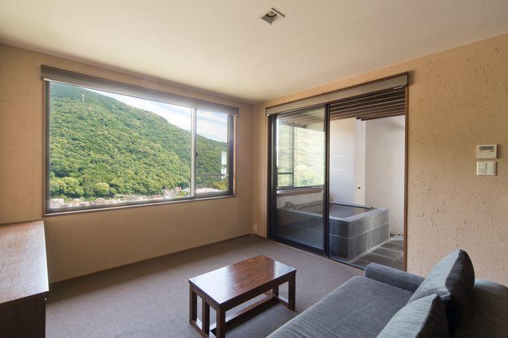 風の舘 ツインルーム Twin room Aura Tachibana